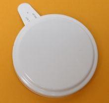 2 Inch Round-Head Aluminum Capseal - White