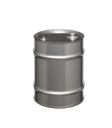 20 Gallon Tight-Head Stainless Steel Drum