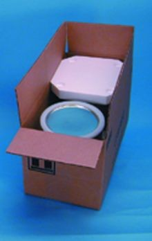 Hazmat Packaging With Two - 1 Gallon Paint Cans