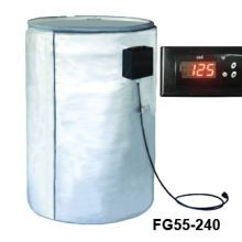 Full Coverage Insulated Steel Drum Heater - 240V