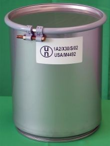 4 Gallon Open-Head Stainless Steel Drum