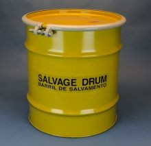 20 Gallon Steel Salvage Drums - Lined
