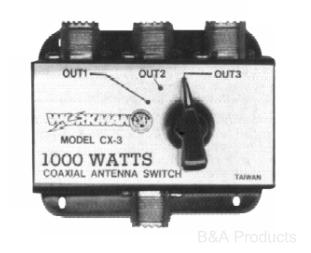 3-way coax switch