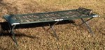 Oversized Steel Army Style Cot - Camo