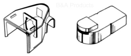 Clear Acrylic Covers-Fits AS-CCBT12N (&P), AS-CCBT13N (&P)