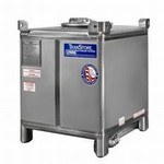 350 Gallon Stainless Steel IBC - TranStore Advanced Technology