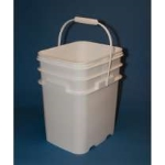 EZ Stor® Plastic Container - 5.3 Gallon