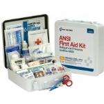 50 Person Bulk First Aid Metal Kit, Weatherproof ANSI A+, Type III