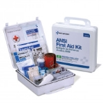 50 Person Bulk First Aid Kit, ANSI B, Type III, Weatherproof Plastic Case