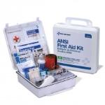 50 Person Bulk First Aid Kit, ANSI B, Type III, Weatherproof Plastic Case