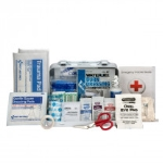 10 Person Bulk First Aid, Metal, Weatherproof Case, ANSI A, Type III