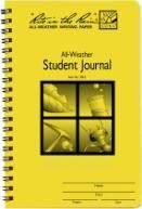 Student Journal All Weather Spiral