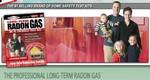 Radon Gas - Long Term Test Kit