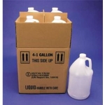 1 Gallon Polyethylene Bottles With Shipping Box - UN Rated