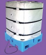 Wrap-Around Heater for Plastic IBC Tote Tank - 48 Inch H - 120V