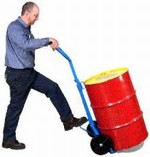MORSE® Drum Truck - Polyolefin Wheels