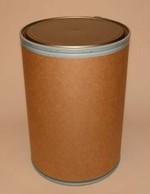 30 Gallon Greif Lok-Rim® Fiber Drum - Metal Cover