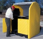 Ultratech Hard Top Spill Containment Pallets - 4 Drum