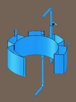 MORSE Karrier Diameter Adapter - Carbon Steel
