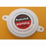 2 Inch Round-Head Plastic Capseal - Sealed Protected