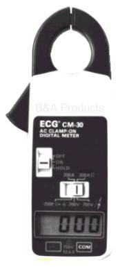 CM-30 AC Clamp-On Digital Meter