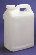 320 Ounce - 2.5 Gallon - F-Style HDPE Bottle