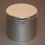 10 lb Industrial Metal Tin with Slip Cover