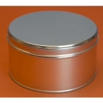 3 lb Industrial Metal Tin with Lid