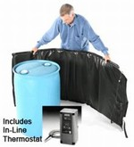 Powerblanket Insulated Drum Heater - Adjustable Thermostat