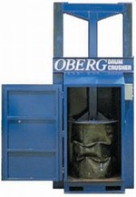 Oberg Drum Crusher and Compactor - Electric