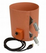 Silicone Rubber Pail Heater - 9.5 Inch Wide - 5 Gallon