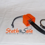 Stethosafe  Stethoscope Cover and Mount