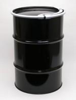 Standard Open-Head Steel Drum - 30 Gallon - Rust Inhibitor Interior