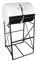 Horizontal Tank and Stand Unit -500 gal - 78 inch long