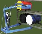 MORSE Omni-Lift Drum Racker - Battery Lift/Manual Tilt