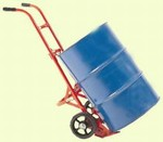 Self-Standing Drum Truck - Moldon Rubber Wheels