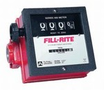 Mechanical Flowmeter - 1 1/2 Inch NPT - Corrosion Resistant