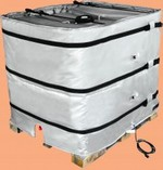Wrap-Around Heater for Plastic IBC Tote Tank - 36 Inch H, 120V