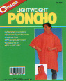 Lightweight Poncho - yellow