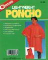 Lightweight Poncho - yellow