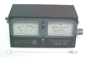 SWR, power, and field strength meter