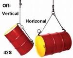 MORSE Heavy Duty Chain Sling Drum Lifter - Galvanized Finish