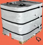 Wrap-Around Heater for Plastic IBC Tote Tank - 36 Inch H, 240V