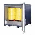 Sahara Hot Boxes - 4 Drum or 1 IBC Tank - Steam