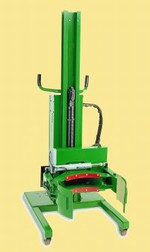Valley Craft Roto-Grip Drum Handler - 78 Inch Battery Straddle Model