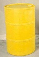 35 Gallon Closed-Head Plastic Drum