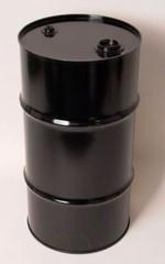 16 Gallon Tight-Head UN-Rated Steel Drum - Black - Rust Inhibitor Interior
