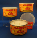 3- Wick Cooking Candle
