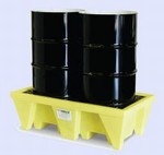 Enpac In-Line 2 Drum Spill Pallet With Drain