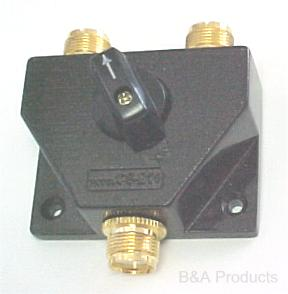 2-output coaxial switch